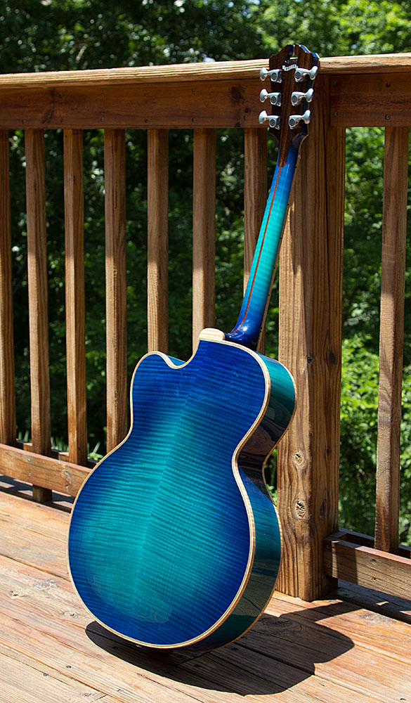 Teal Blue Orpheus Back