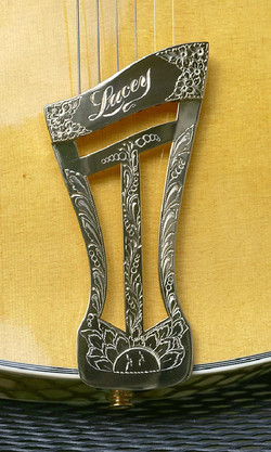 Engraved Tailpiece