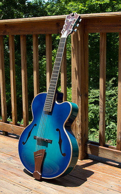Teal Blue 17 inch Orpheus Archtop