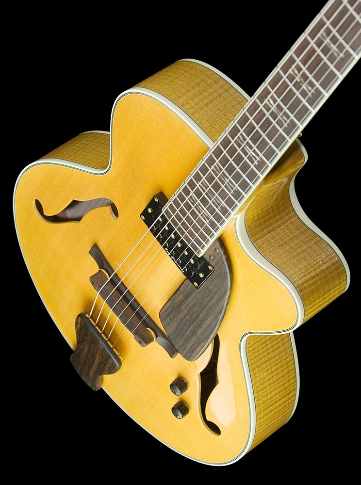 Argonaut Archtop Angled View