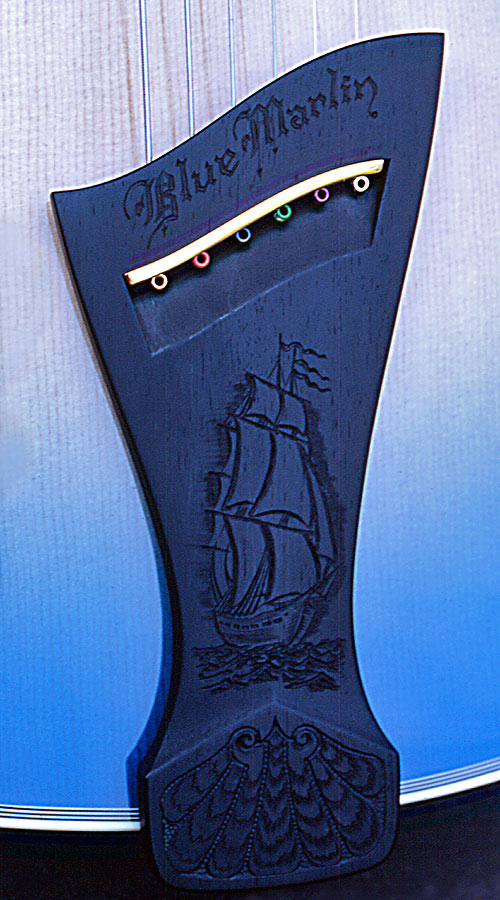 Blue Marlin Tailpiece