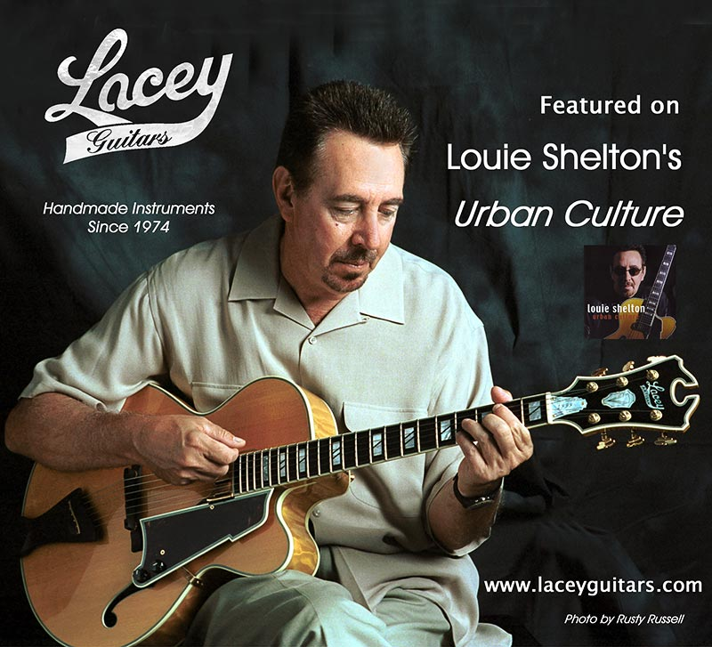 Louie Shelton's 16 inch Signature