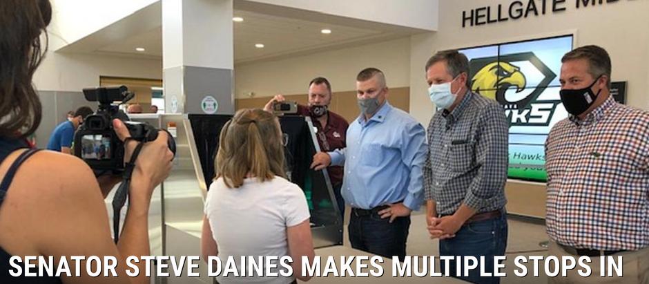 Senator Steve Daines Makes Multiple Stops in Missoula on Friday