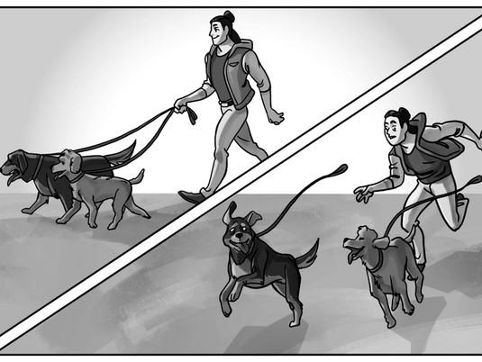 LIE vs TRUTH \ Dog Parent \ P&A