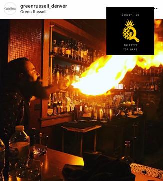 Green Russel - Best Hidden Bar