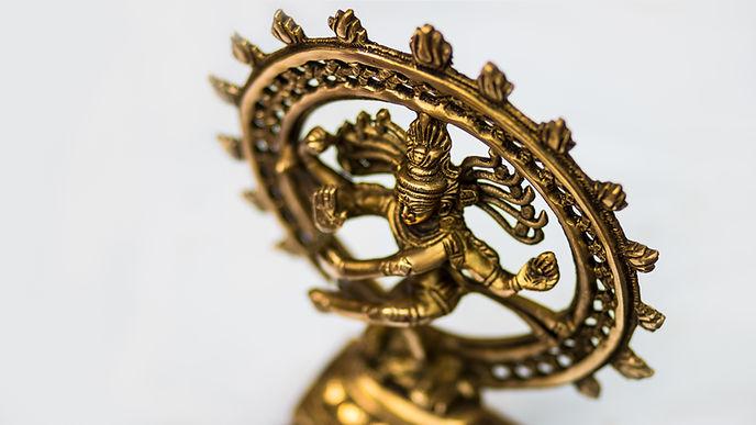 Statue of Indian Hindu god Shiva Nataraj