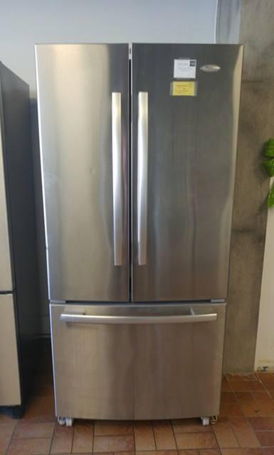 Réfrigérateur Whirlpool Gold Inox Portes Econoplus Électroménagers - Refrigerateur 3 portes