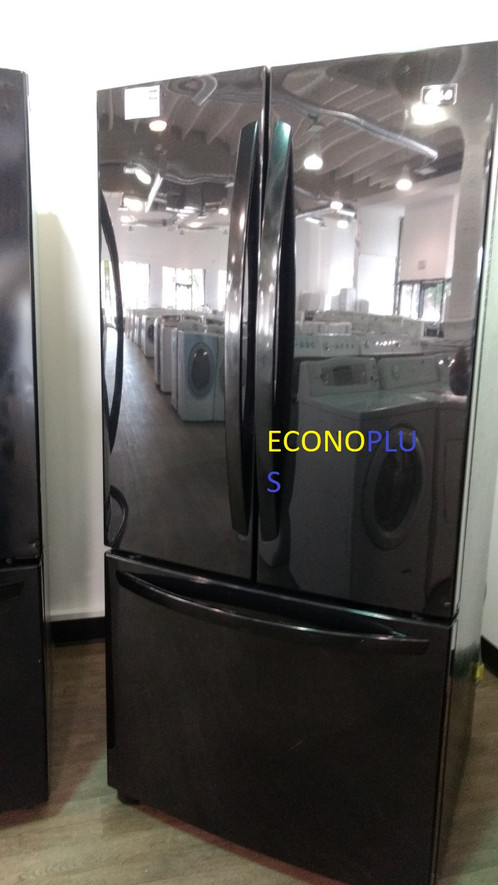 Réfrigérateur LG Portes Noir Econoplus Électroménagers - Refrigerateur 3 portes
