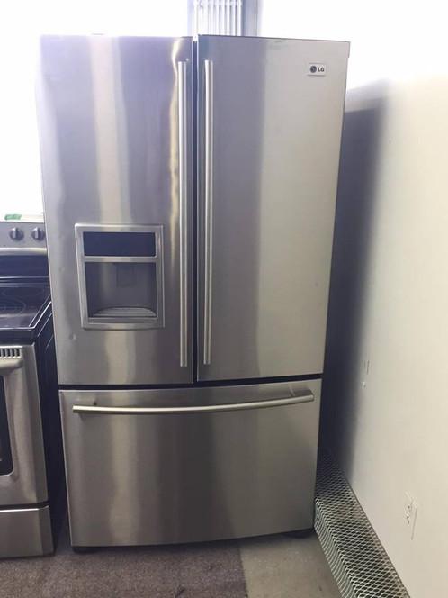 Réfrigérateur LG Portes Inox Econoplus Électroménagers - Refrigerateur 3 portes