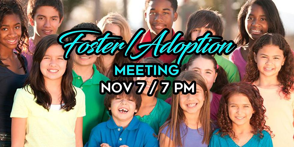 Foster/Adoption Meeting