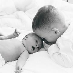Brother + Sister telling secrets ❤️ #chr