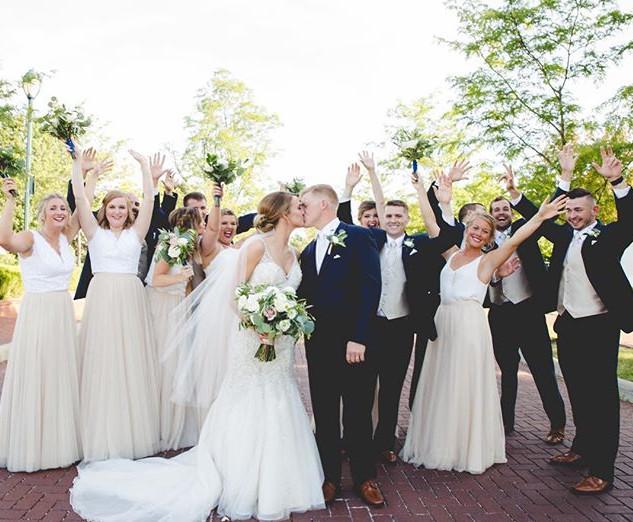 Hooray for Jenna + Matthew's wedding day