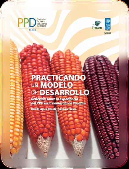 publicacion 1 del ppd mexico con mazorcas de maíz orgánico