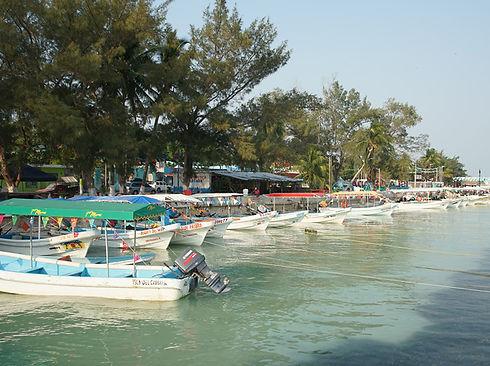 paisaje cuenca baja turismo alternativo embarcaciones humedales isla aguada campeche
