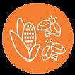 logo paisaje forestal milpero maíz y abejas
