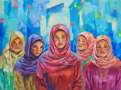 Girls of Chefchaouen