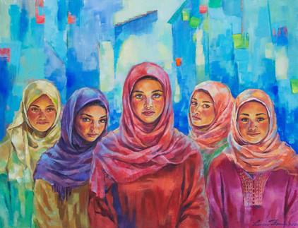 Girls of Chefchaouen