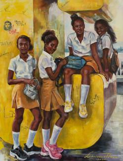 Santiago Schoolgirls