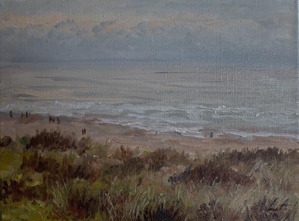 Foggy North Sea