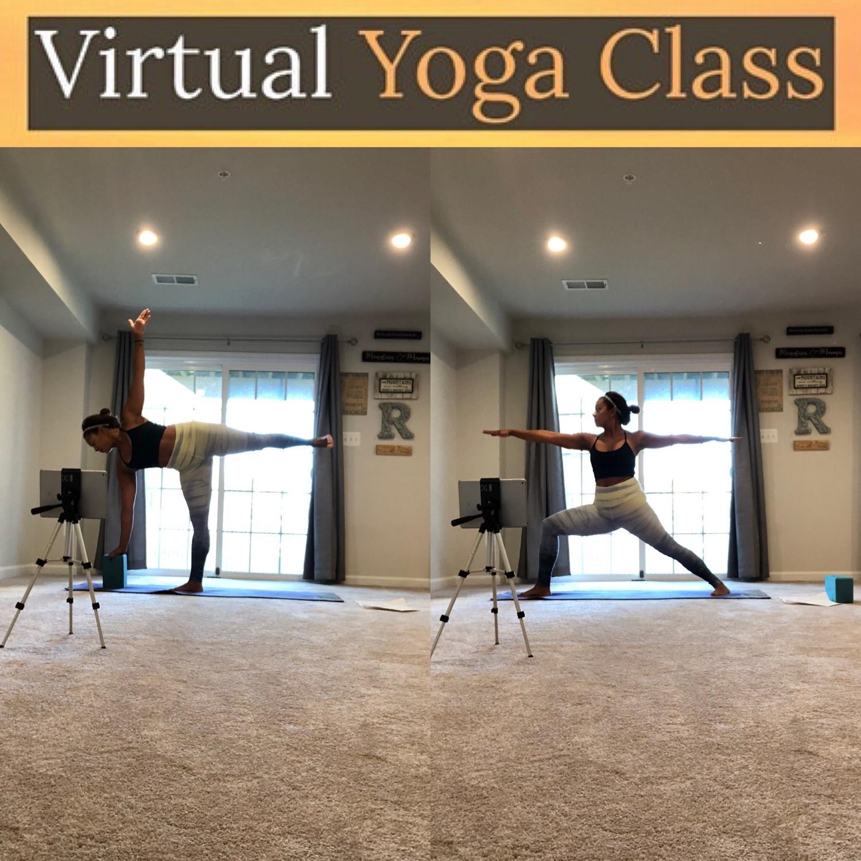 Morning *Virtual* Live Zoom Yoga