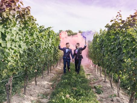 Michael and Kim's Vineyard wedding-Published Wedding