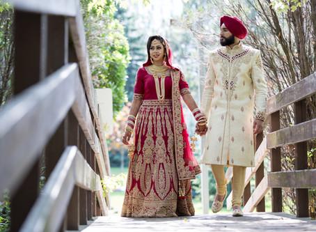Harman & Kulveer Sikh Wedding - Real wedding