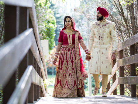 Harman & Kulveer Sikh Wedding - Real wedding