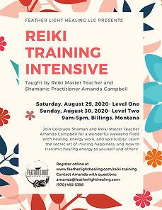 Billings Reiki Intensive August 2020 Pg