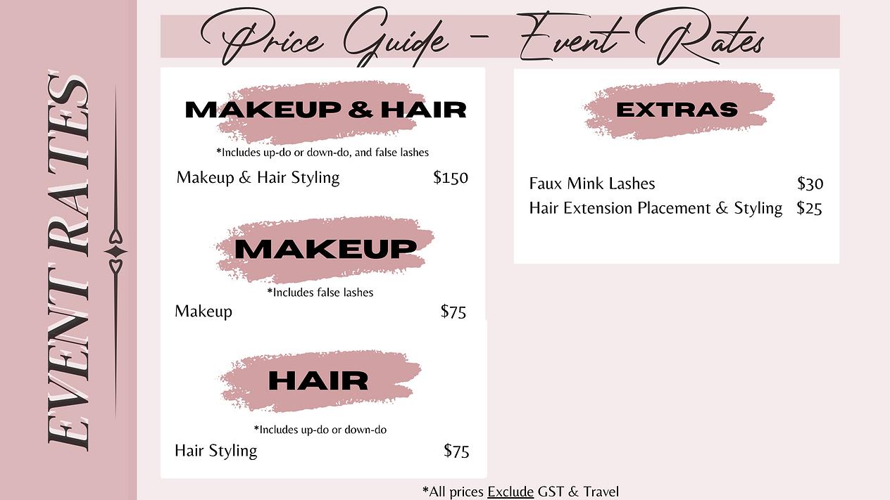 Edmonton Makeup Artist Hair Stylist
