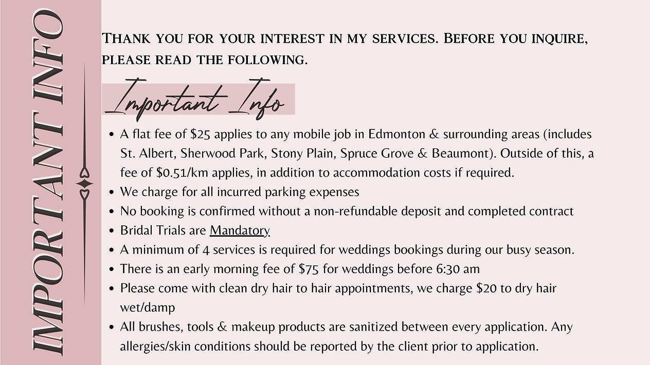 Edmonton Makeup Arist Hairstylist