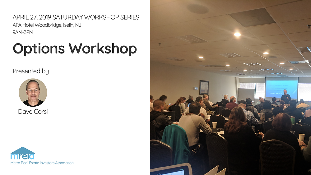 Options workshop 4/27/2019