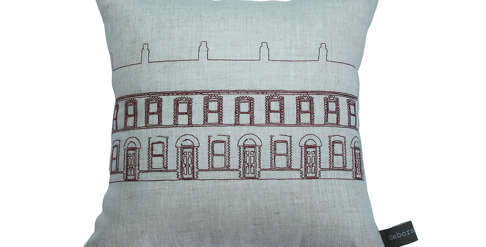 Belfast Terrace Row Cushion