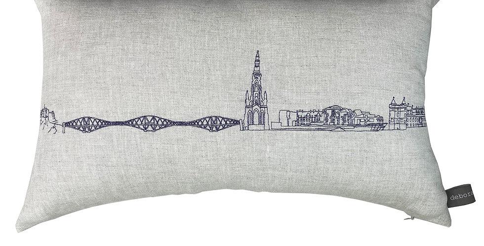 Edinburgh Skyline Cushion