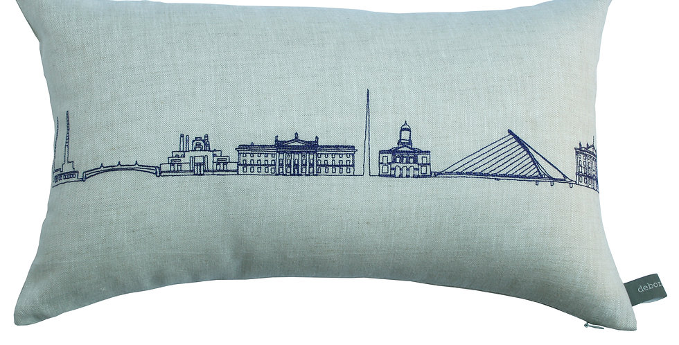 Long Dublin Skyline Cushion