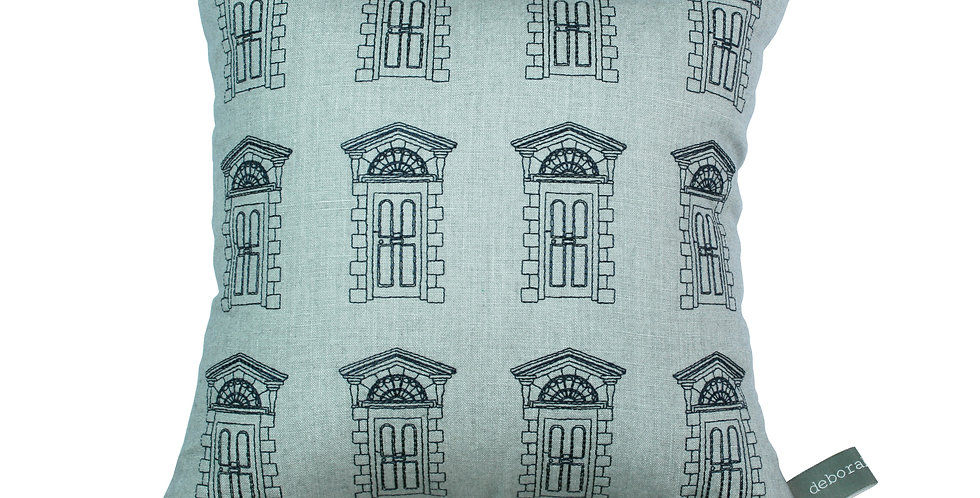Dublin Door Pattern Cushion