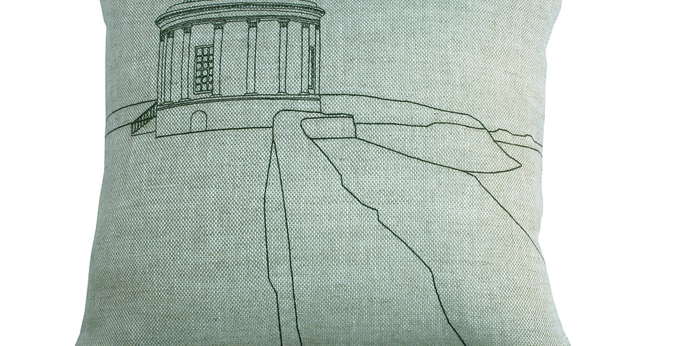 Large Mussenden Temple Cushion