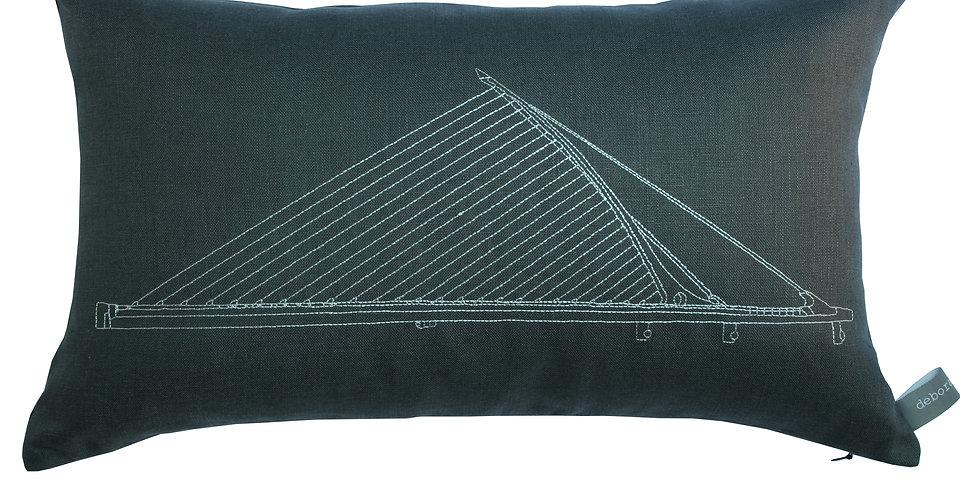 Samuel Beckett Bridge Cushion