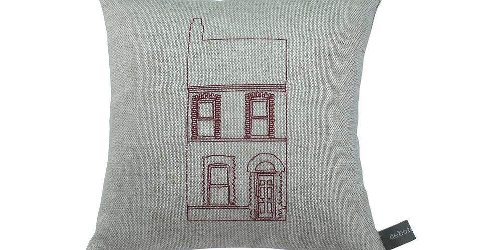 Terraced House Cushion