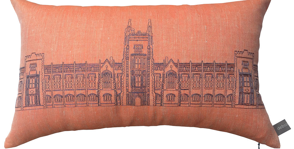 Queens University Lanyon Building Cushion