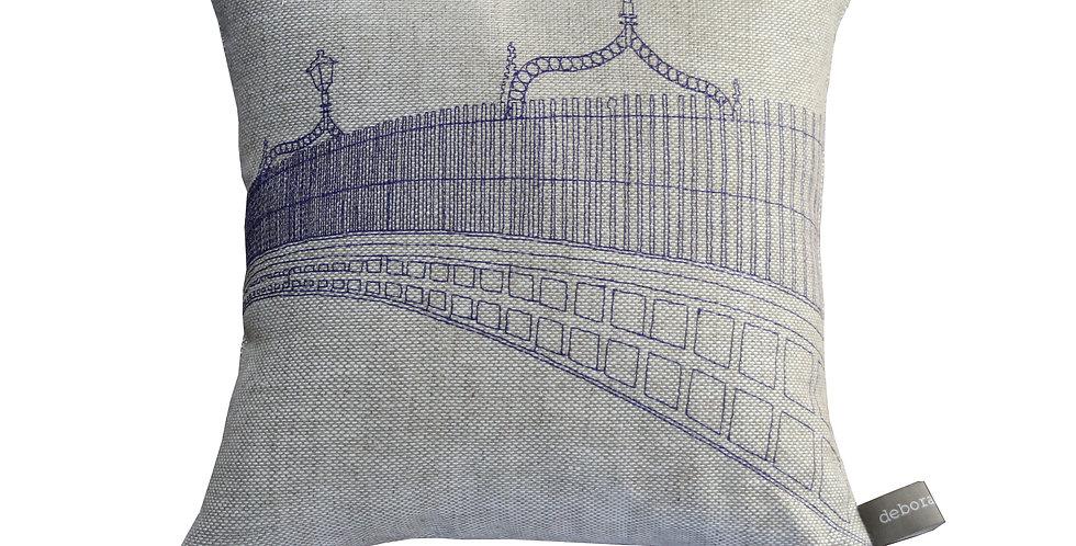 Ha'penny Bridge Cushion