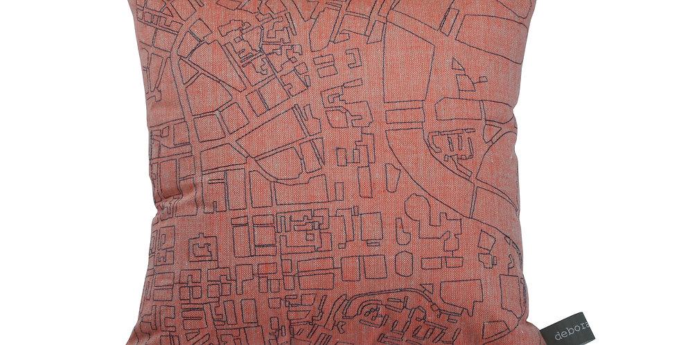 Belfast Map Cushion