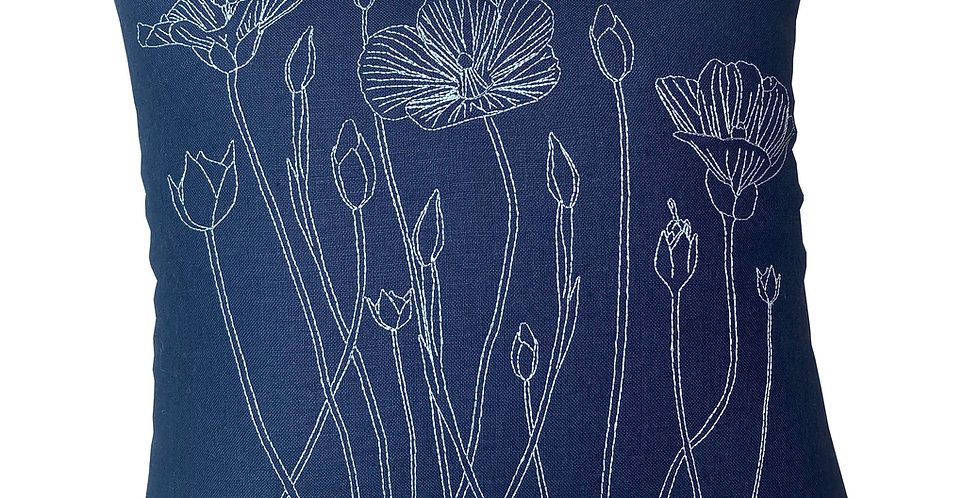 Large Flax Field Cushion