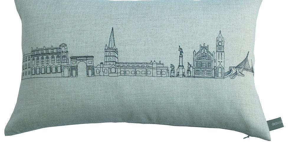 Long Derry Skyline Cushion
