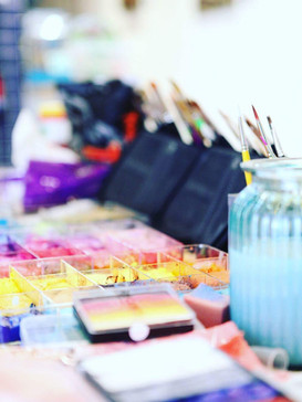 Face paint station