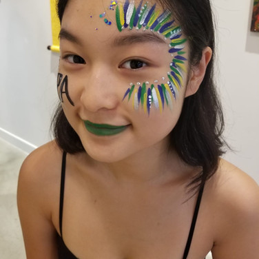 World Cup Festival Face Paint