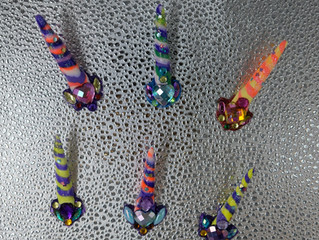 New! Unicorn horns with face paint!