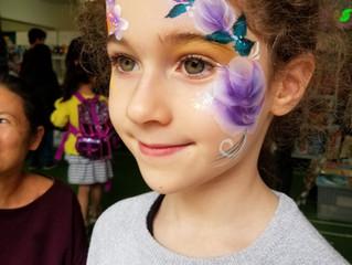 Face Painting at School Fair- Montesorri Stanley Hong Kong