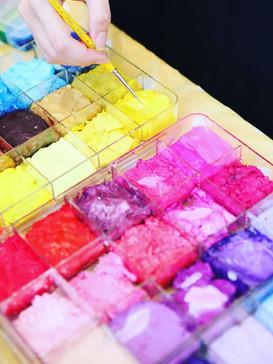 Juicy face paint colors