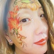 Autumn Face paint