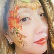 Autumn Face paint